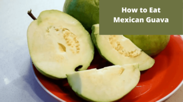 How to Eat mexican Guava (2)